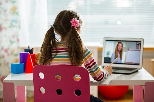 Učenje na daljavo in uporaba spletnih kamer pri učnih urah